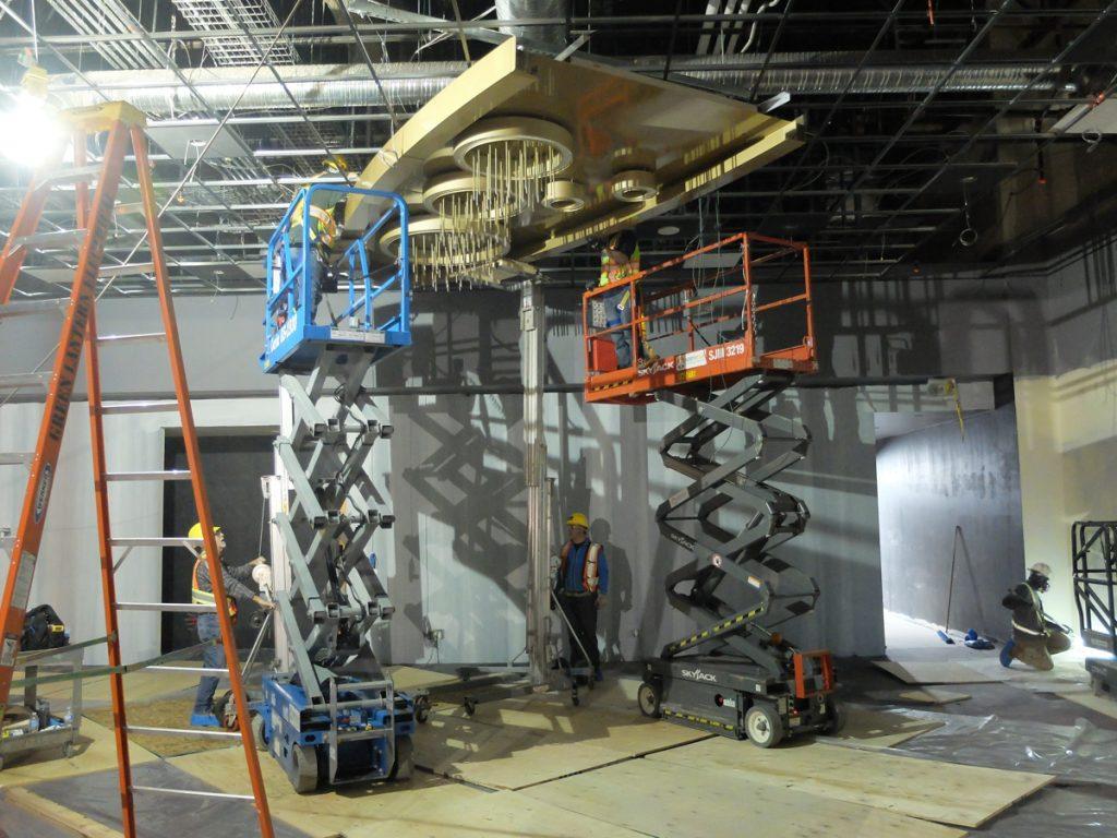 chandelier fabrication