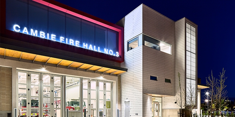 Cambie Firehall channel letters