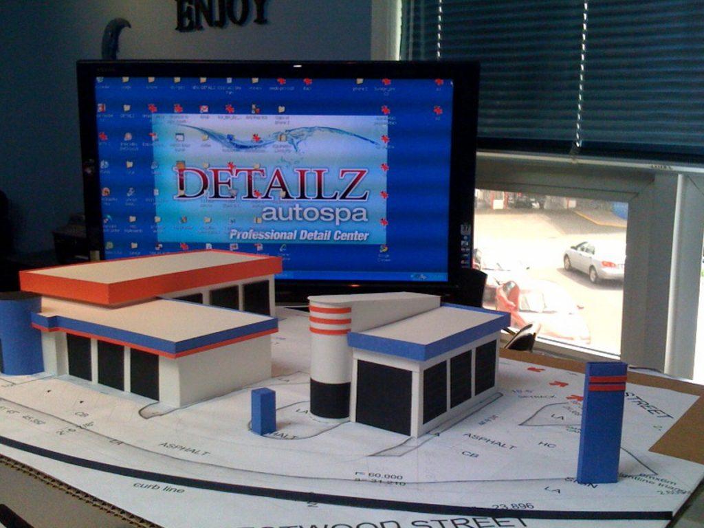 Detailz autospa scale model