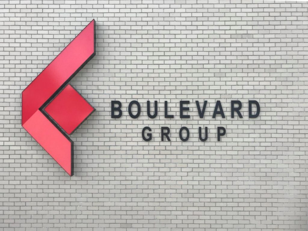 Boulevard Group Non illuminated signage