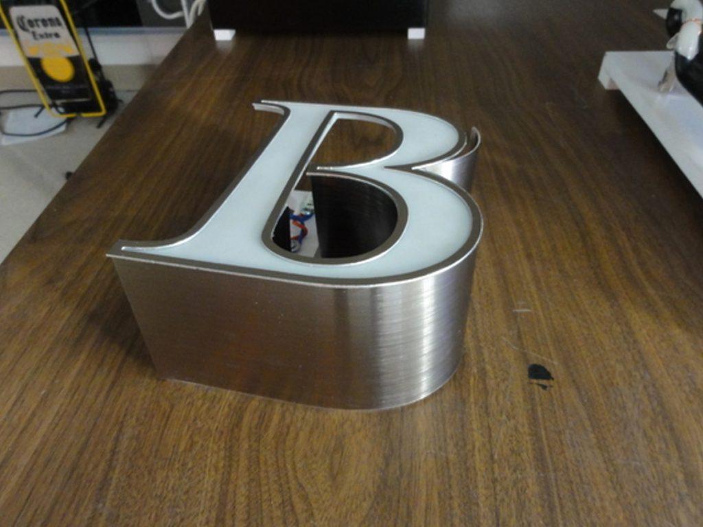Birks channel letters