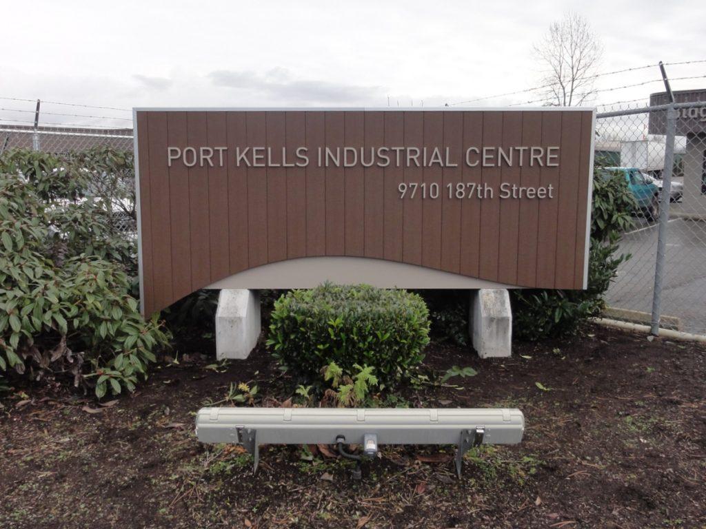 Port Kells Industrial Centre Freestanding Pylon Sign