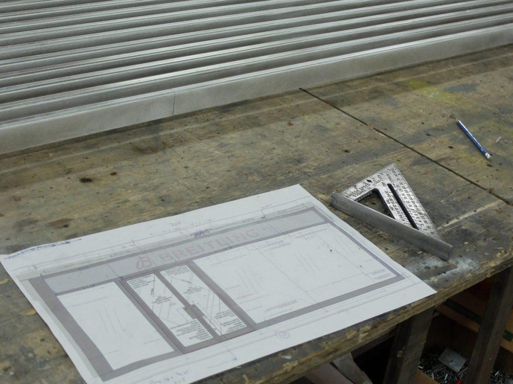 Breitling Storefront Cladding