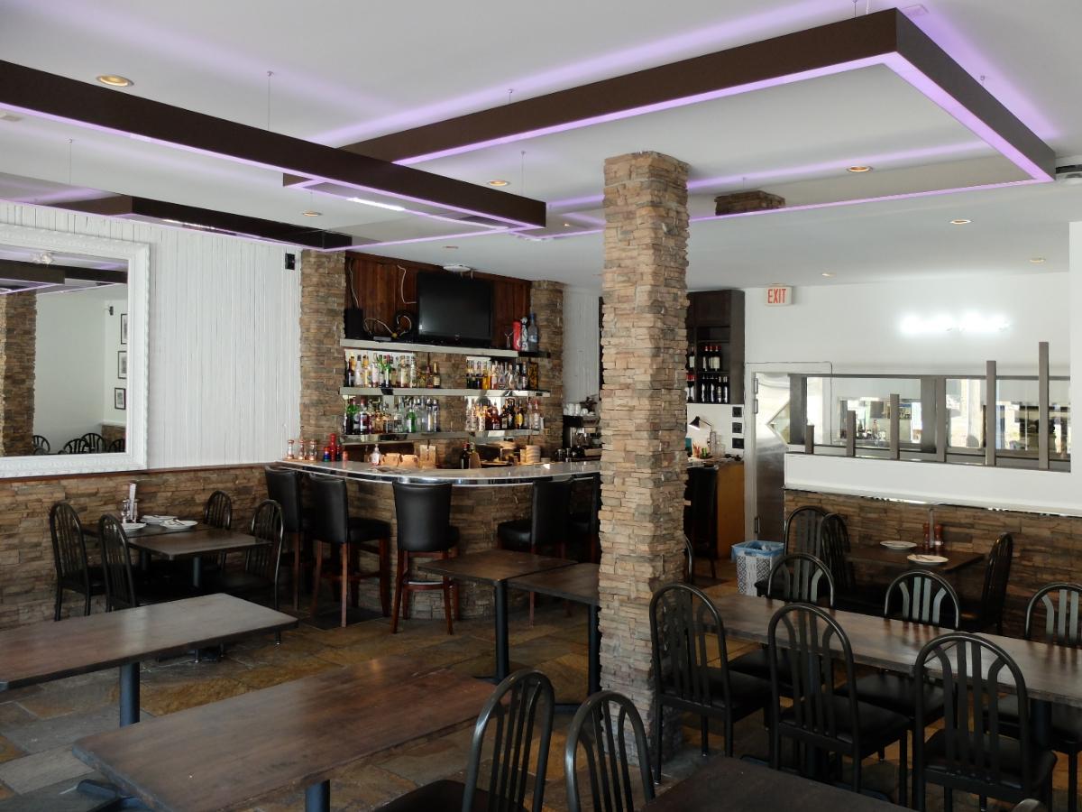 That Place Restaurant chandelier