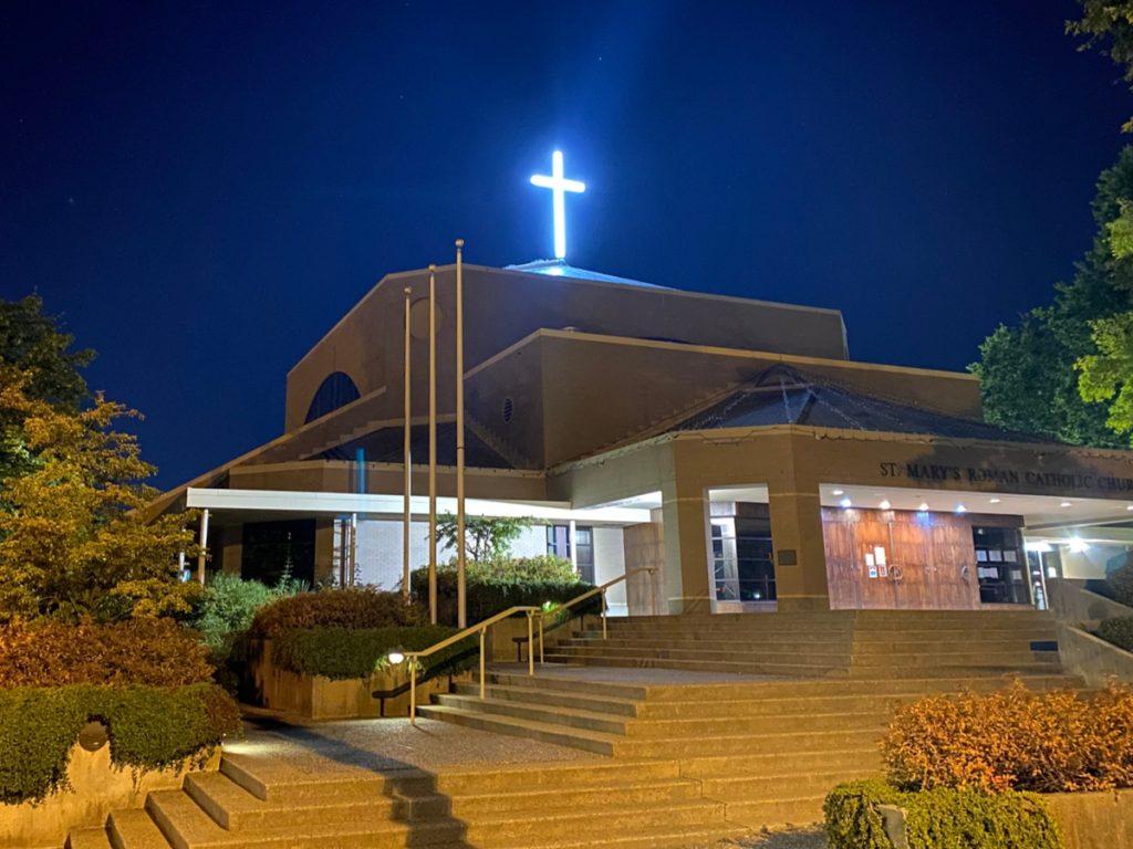 St Mary's Parish Church Cross