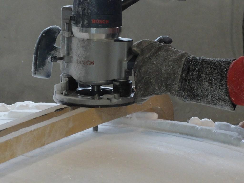 Button fabrication