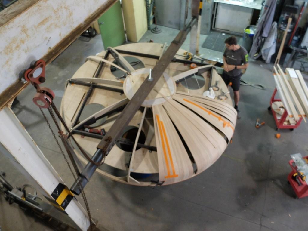 Oakridge Sales Centre Hanging Basket for Display Model