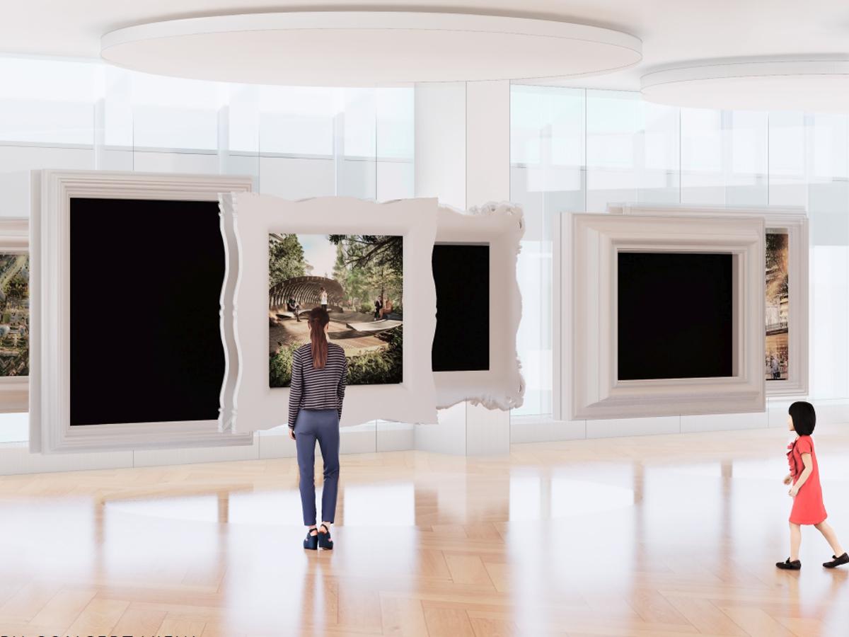 Oakridge Sales Centre TV Lift System